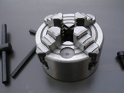 """100mm (4"""") - 4 Jaws Independent Lathe Chuck"""