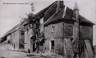 Ponders End near Enfield. Old Moat House # 792 by Charles Martin.