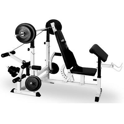 Appareil musculation fitness station charge guidée butterfly tirage banc de gym