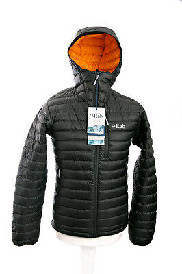 Rab Microlight Alpine Jacket, Beluga Squash, Size Small, New with Tags.