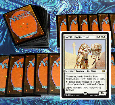 mtg WHITE LIFE GAIN DECK Magic the Gathering rare cards jareth fumigate