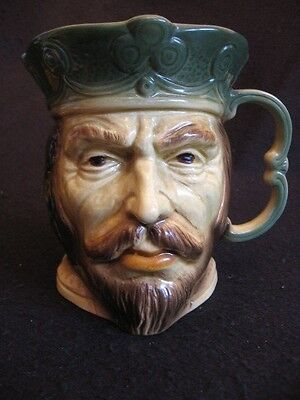 RARE KINGSTON POTTERY,HULL LARGE 'EDWARD I' CHARACTER JUG c.70s EXCELLENT