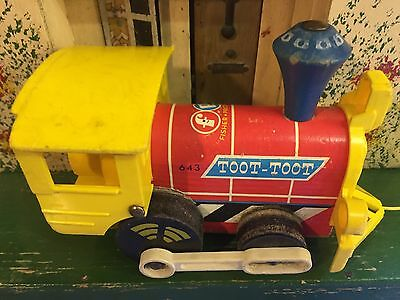 Vintage 1964 Fisher Price Toot Toot Train.