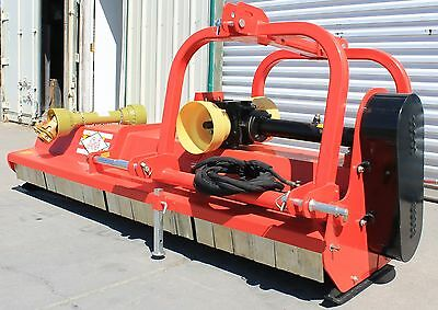 "87"" Flail Mower / Mulcher Hydraulic Adjust Cat.I/II 3pt 50+HP Rating (FH-AG220)"
