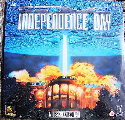Independance day Laserdisc  PAL Widescreen NEW and Factory sealed