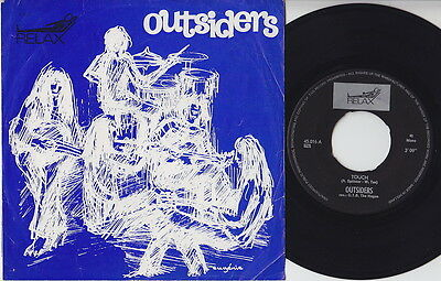 OUTSIDERS * Touch * 1966 Dutch GARAGE PSYCH FREAKBEAT MOD NEDERBEAT OG 45 * MP3