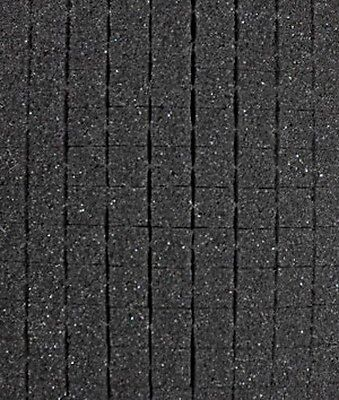"""Pick and Pluck Charcoal Foam 10.5"""" X 7"""" X 2"""" with 1/2"""" pull apart grid"""