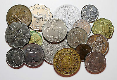 Collection of x20 World Coins