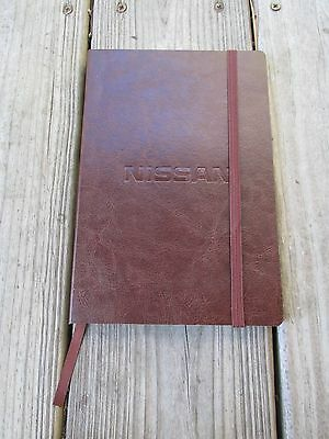 Nissan Faux Leather Journal Lined Notebook Journalbooks Enthusiast Gift Employee