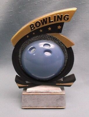 bowling trophy full color resin award by PDU