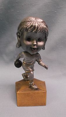 Bobble head youth male BOWLING statue trophy  resin award BH series