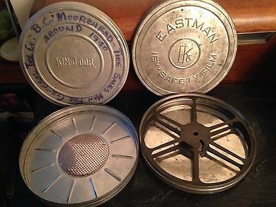 Vintage Movie Reel Case Eastman Kodak Film Reel And Kin-O-Dor Case 16 Mm
