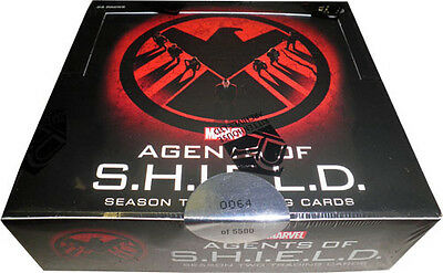 Marvel Agents of SHIELD Season 2 Factory Sealed Box