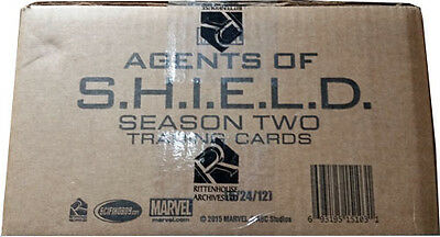 Marvel Agents of SHIELD Season 2 Full Case of 12 Factory Sealed Boxes