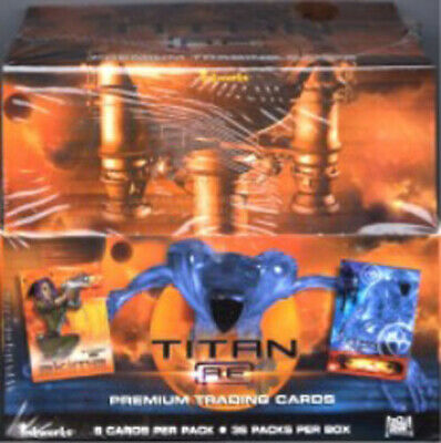 Titan AE Factory Sealed Card Box