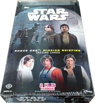 Star Wars Road to Rogue One Mission Briefing Factory Sealed Hobby Card Box