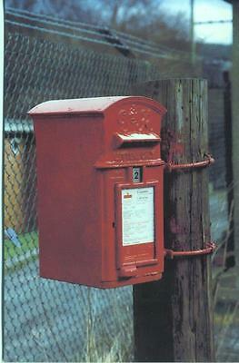 British Postbox Series #56 G VI R Lamp Box Sirhowy Blackwood 1993 Postcard
