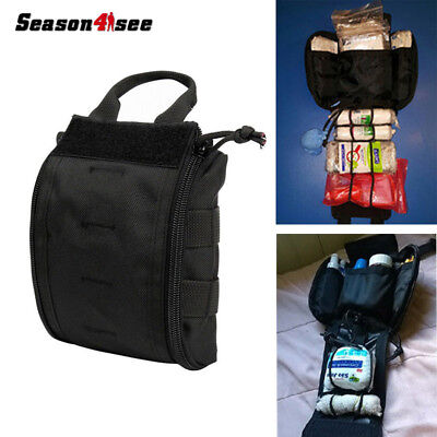 Tactical Compact MOLLE EMT First Aid Utility Portable Medical Pouch Bag