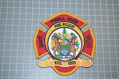 Powell River Canada Fire Rescue Patch (T3)