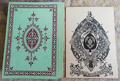 ANTIQUE PLAYING CARDS  Goodall And Son Bezique Deck   32/32