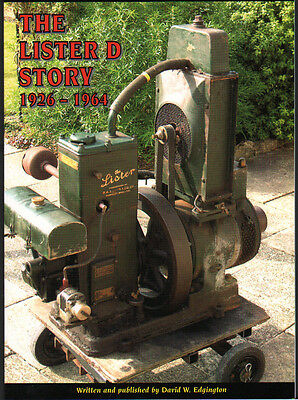 """STATIONARY ENGINE BOOK: Lister """"D"""" Story 1926 - 1964"""