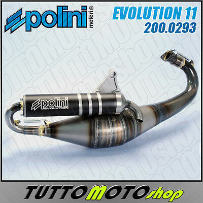 Marmitta 200.0293 Polini Evolution 11 Piaggio Zip Sp