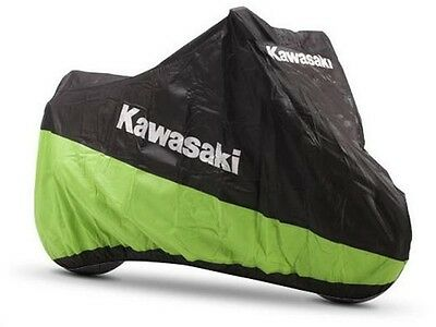 Genuine Kawasaki Indoor Motorcycle Cover - Large - Large-Sized Sports & Naked