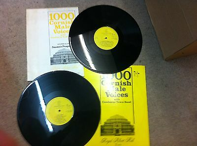 1000 Cornish Male Voices With Camborne Town Band Royal Albert Hall London Record