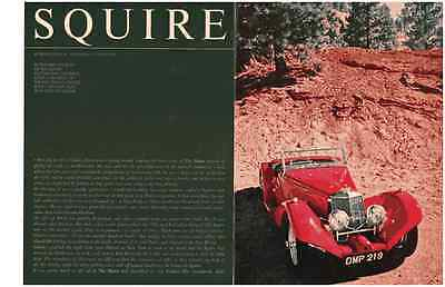 1952 Squire  ~ Original 6-Page 1967 Article