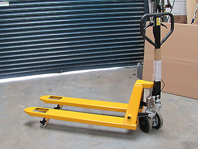 NEW BRAKED 2500kg 1200mm LONG HAND PALLET TRUCK FITTED WITH BRAKE