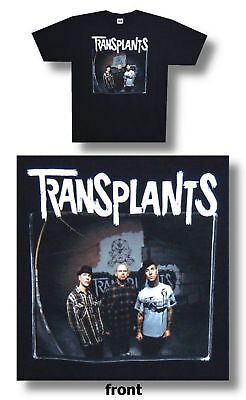 The Transplants Alley Band Pic Adult T Shirt Large New Official Rancid