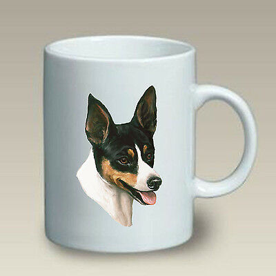11 oz. Ceramic Mug (LP) - Rat Terrier 46130