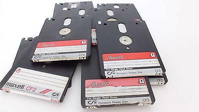 Amsoft CF2 floppies for Amstrad 8152/8256 computers