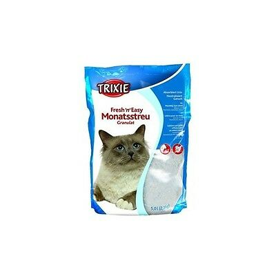 TRIXIE Fresh'n'Easy Granules, 5 l pour chat LITIERE MINERALE - LITIERE SILICE -