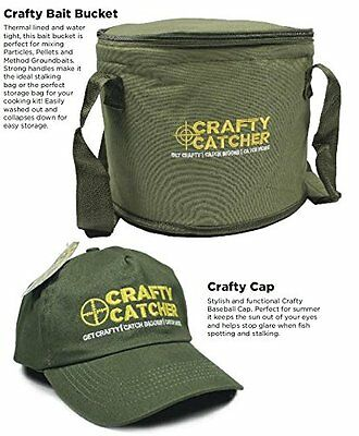 Bait Bucket Multi Purpose + FREE Crafty Catcher Cap