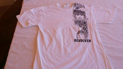 """BEATLES  GRAPHIC  T-SHIRT, """"REVOLVER"""" size, med."""