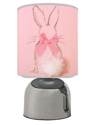 Little Bunny Touch Table Bedside Lamp Kids Room Nursery