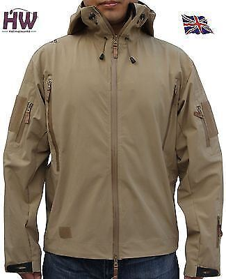Airsoft Emerson Xl Soft Shell Windproof Jacket Tan Sand
