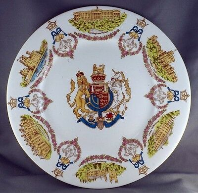 Caverswall  Commemorate Prince Charles Lady Diana Spencer Plate Limited to 5000