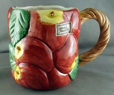 Fitz & Floyd Apple Mug
