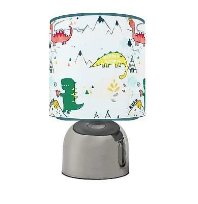 Dylan The Dinosaur Dino Touch Table Bedside Lamp Kids Room  Matches Duvet Set