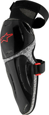 Alpinestars Vapor Pro Knee Guard Protector (Pair) Black/Grey Mens All Sizes