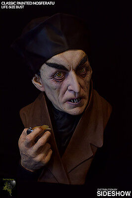 Sideshow Classic Painted Nosferatu 1:1 Life size Bust Büste
