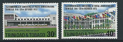 Trinidad & Tobago Sg445/6 1973 Commonwealth Games  Mnh