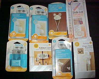 Mixed Lot of Safety 1st Baby Protection NEW Locks Latches Plugs