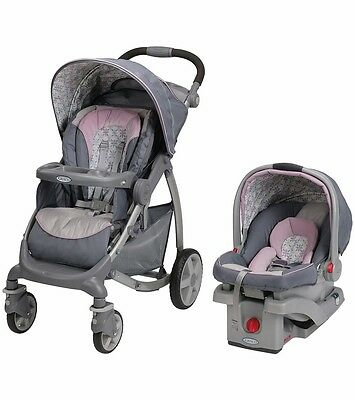 Graco Stylus Click Connect Travel System - Kendra - New! Free Shipping!