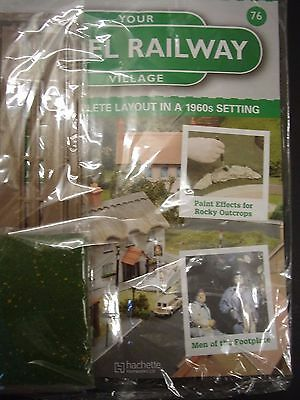 Your Model Railway Magazine new issue 76 green scatter and stone wall