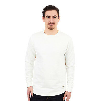 Wemoto - Melton Sweater Off White Pullover Rundhals
