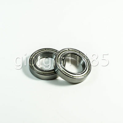 US Stock 10pcs 6802ZZ Deep Groove Double Shielded Ball Bearing 15mm x 24mm x 5mm