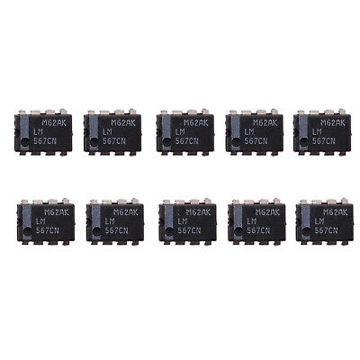 10 pcs LM567 LM567CN Tone Decoder PLL DIP-8 IC New